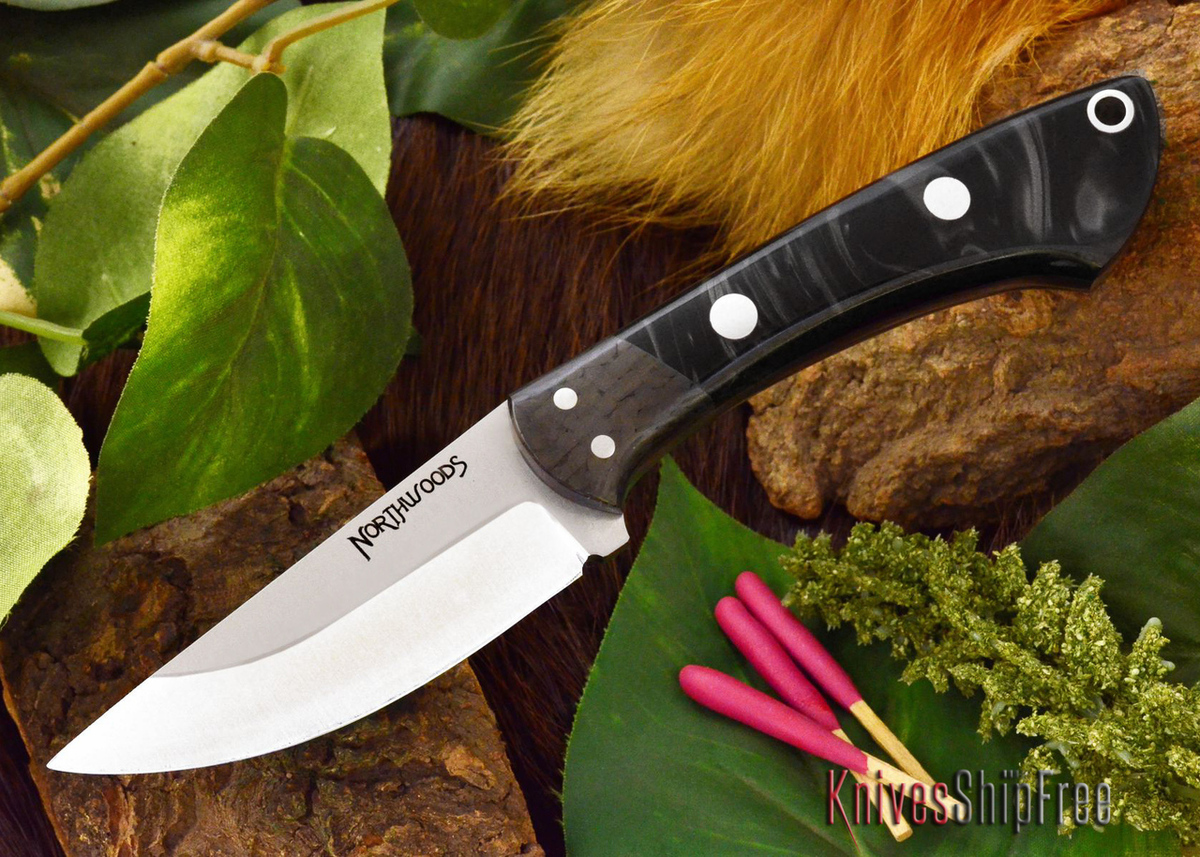 Northwoods Knives: Iron River - Black Pearl Kirinite primary image