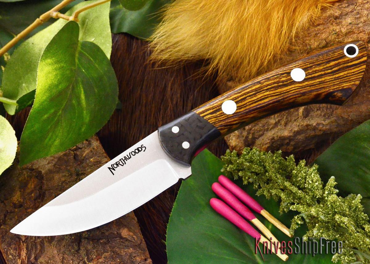 Northwoods Knives: Iron River - Bocote primary image