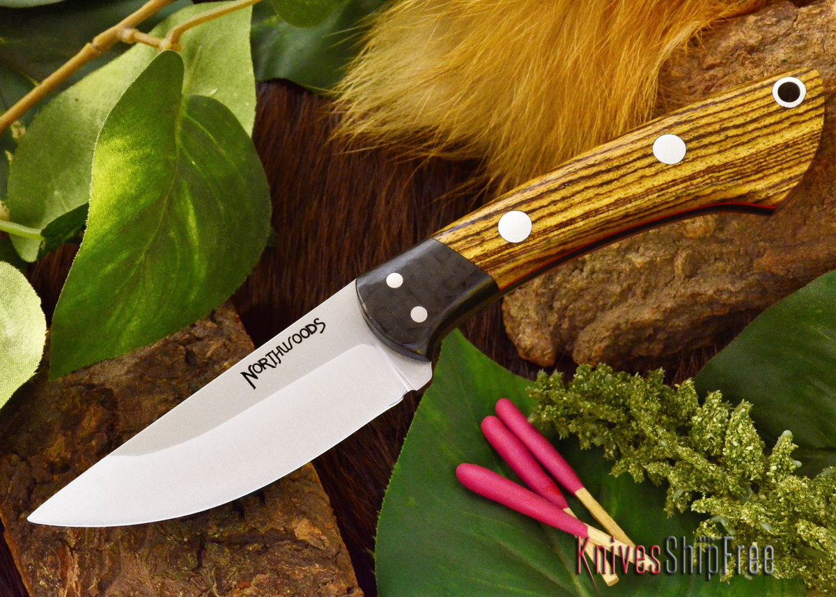 Northwoods Knives: Iron River - Bocote - Red Liner primary image
