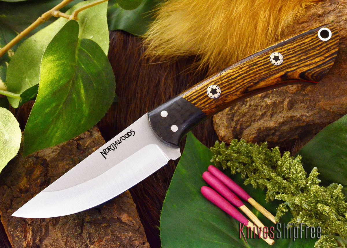 Northwoods Knives: Iron River - Bocote - Red Liner - Mosaic primary image