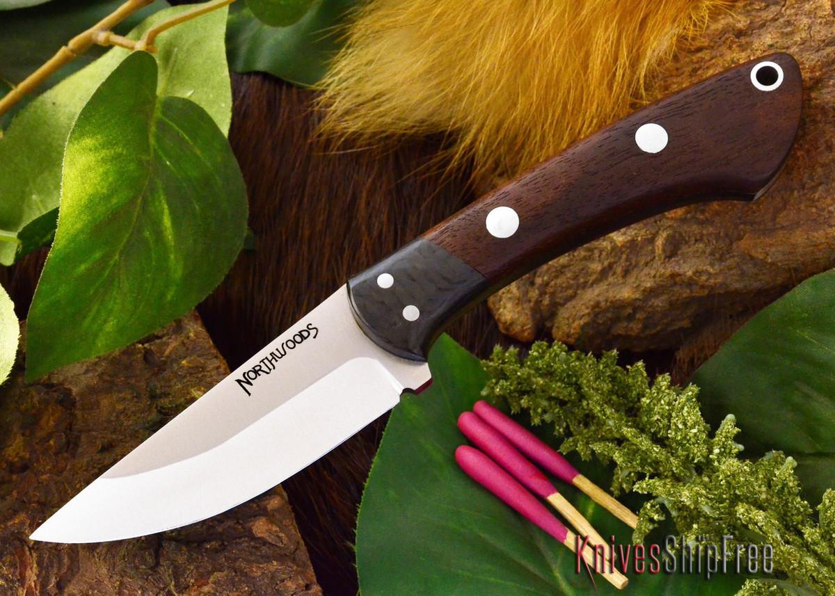Northwoods Knives: Iron River - Bastone Walnut Burl primary image