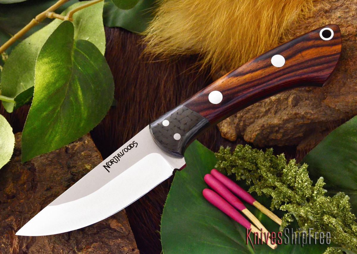 Northwoods Knives: Iron River - Cocobolo - #4 primary image
