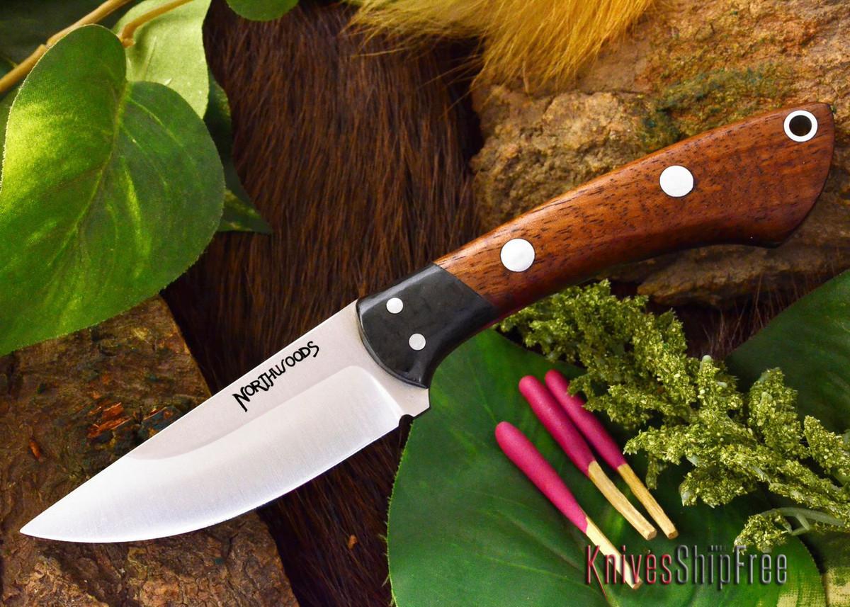 Northwoods Knives: Iron River - Curly Koa Burl primary image