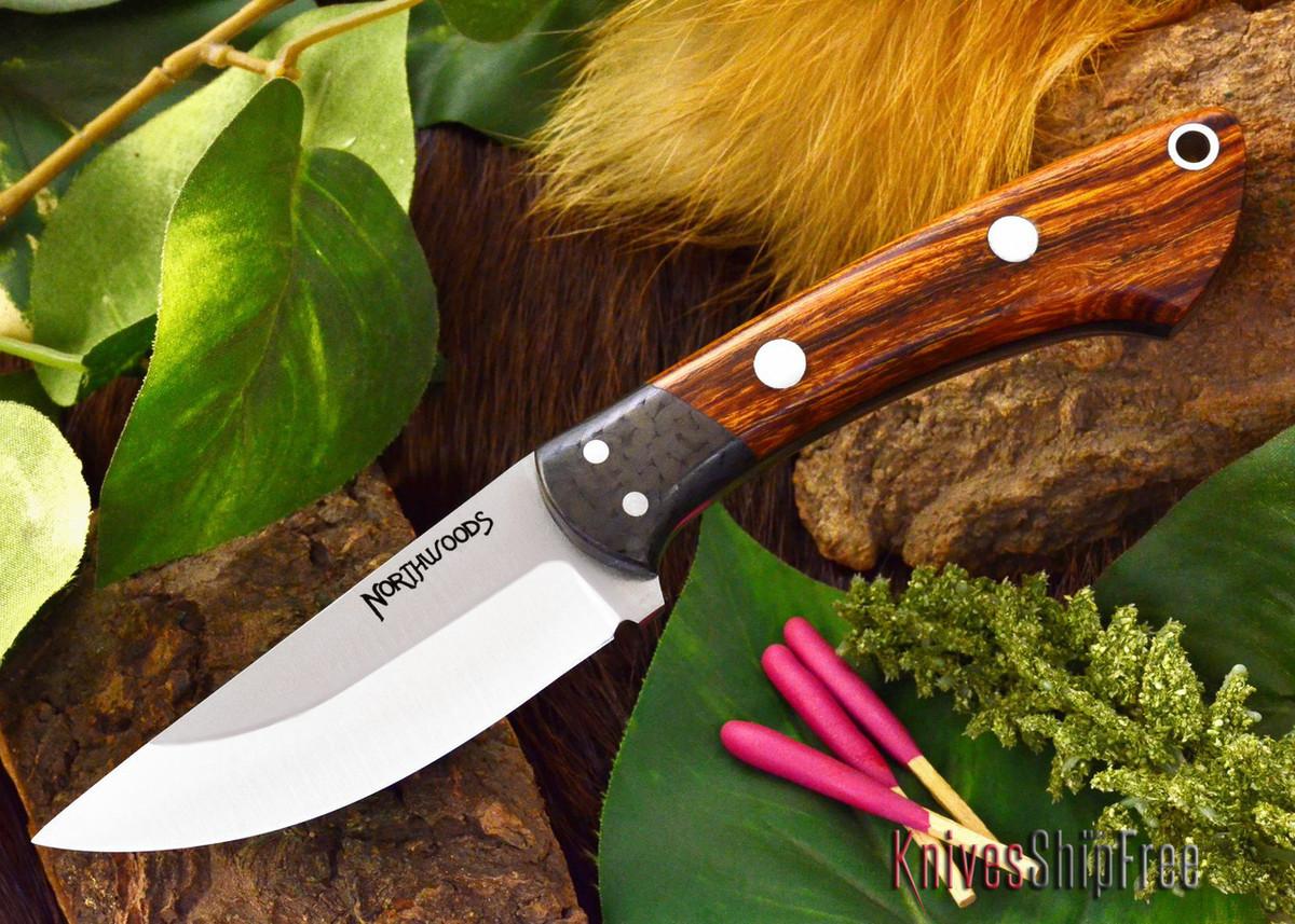 Northwoods Knives: Iron River - Desert Ironwood - Black Liner primary image