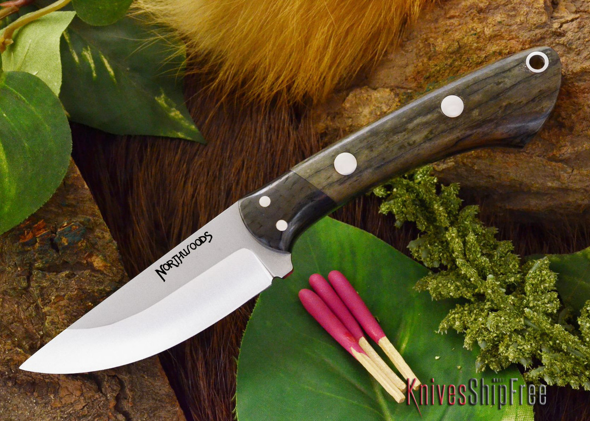 Northwoods Knives: Iron River - Giraffe Bone - #4 primary image