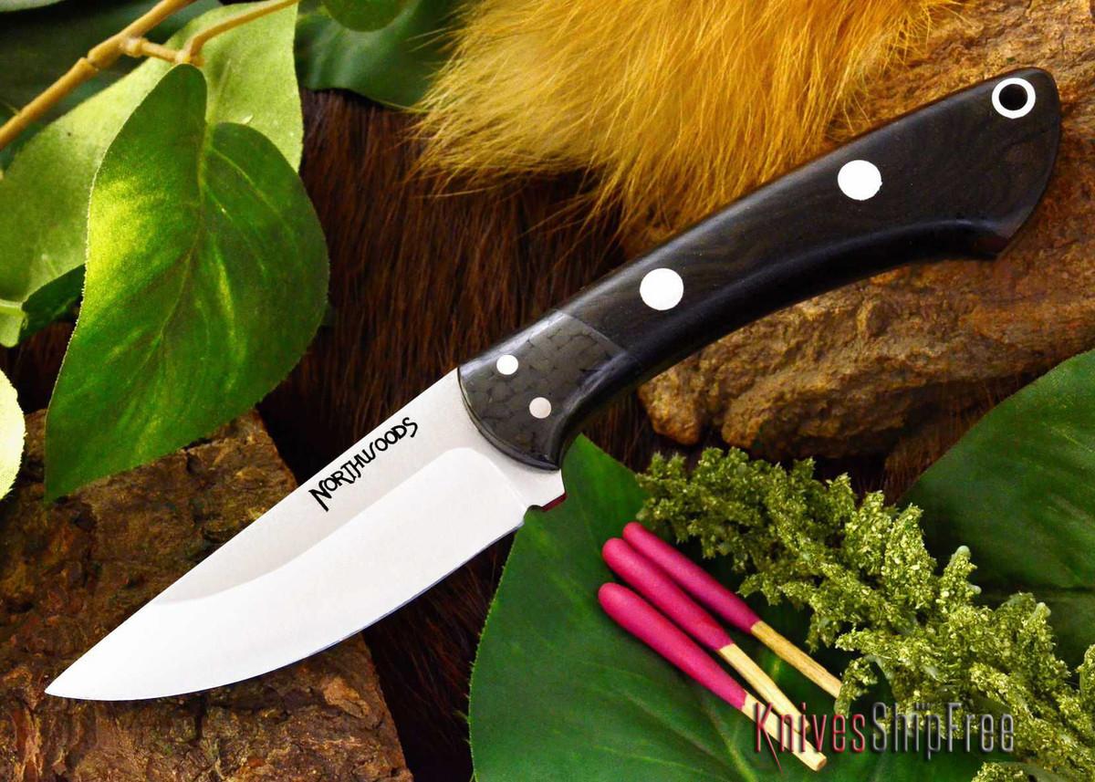 Northwoods Knives: Iron River - Ziricote primary image