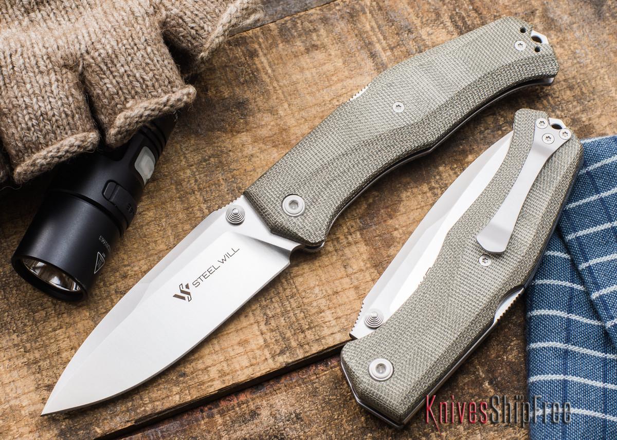 Steel Will Knives: Mini Gekko 1550 Folder primary image