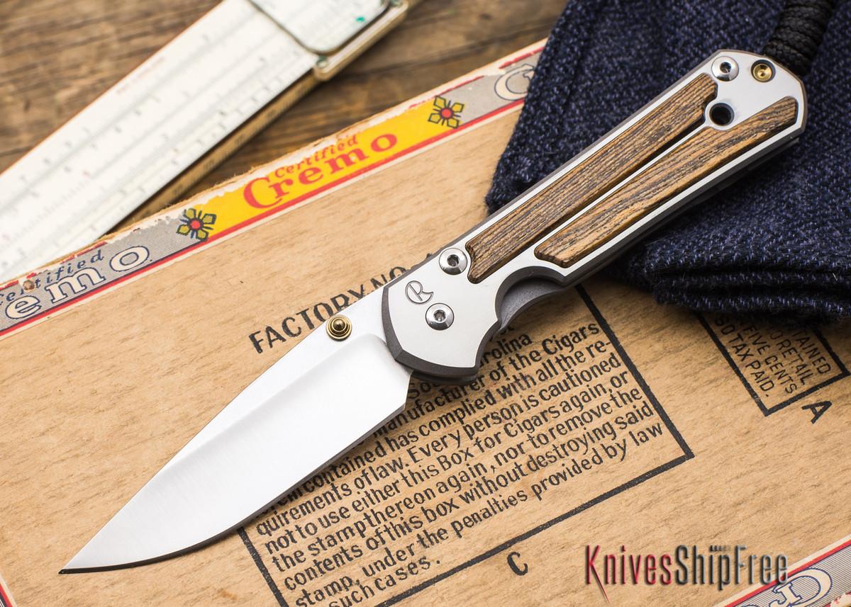Chris Reeve Knives: Small Sebenza 21 - Bocote - 050205 primary image