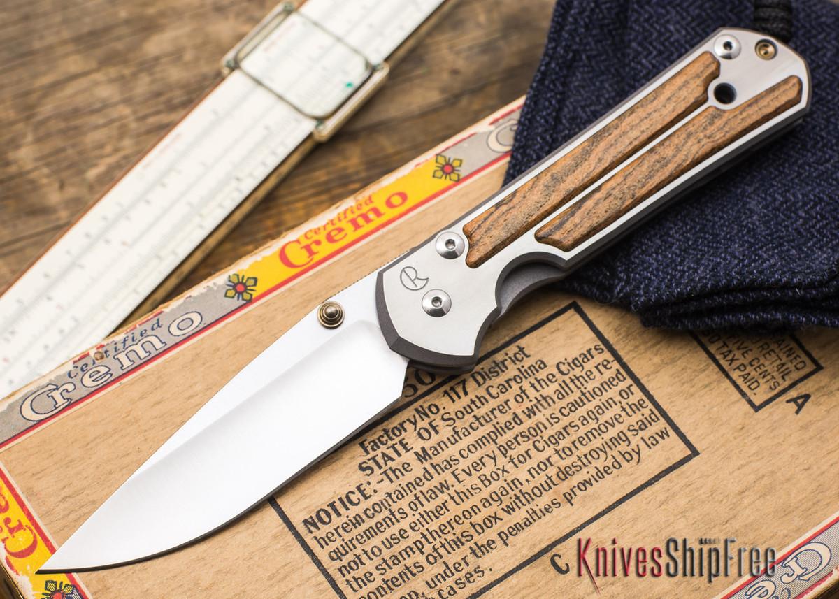 Chris Reeve Knives: Large Sebenza 21 - Bocote Inlay - 050202 primary image