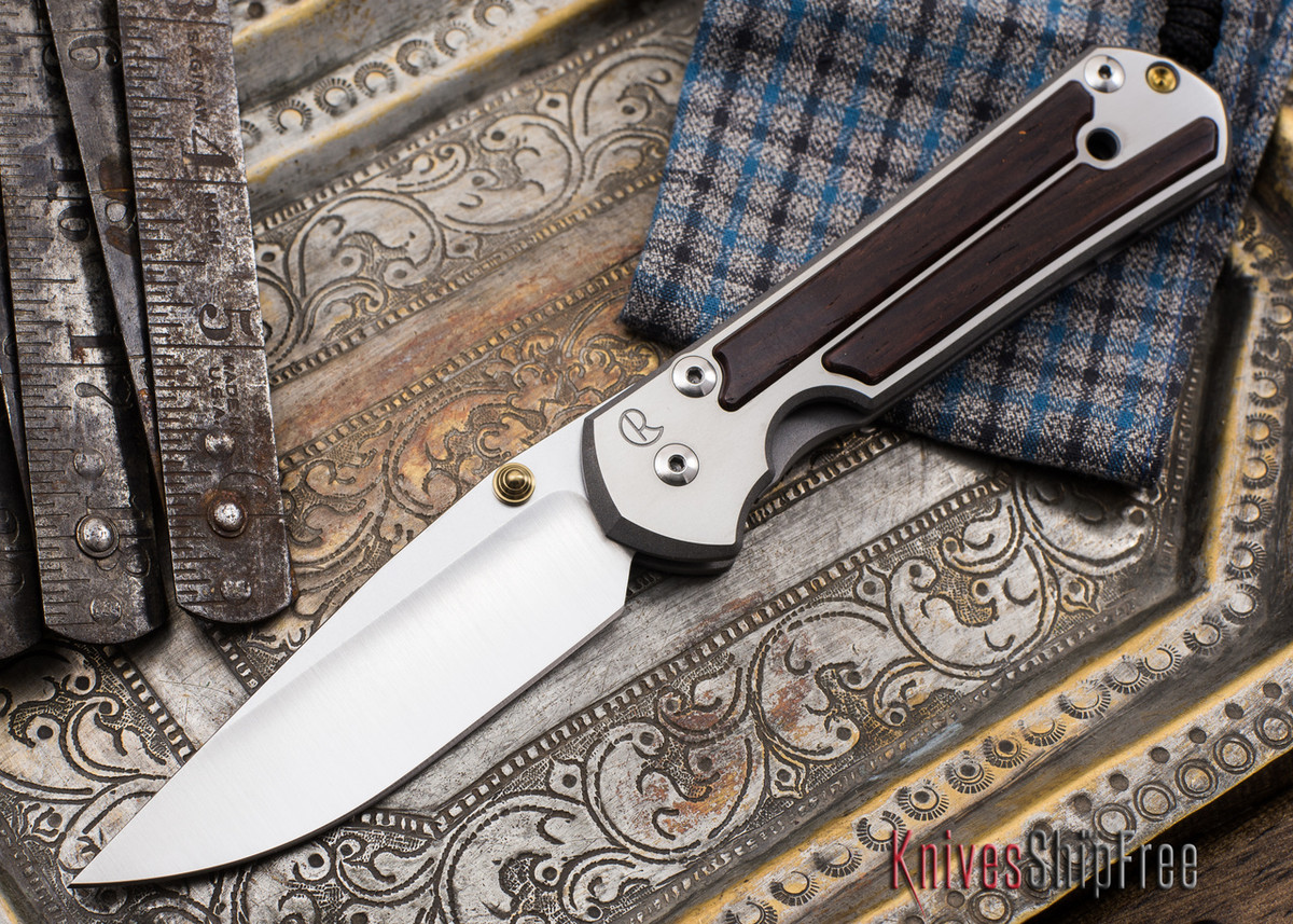 Chris Reeve Knives: Large Sebenza 21 - Cocobolo Inlay - 051902 primary image