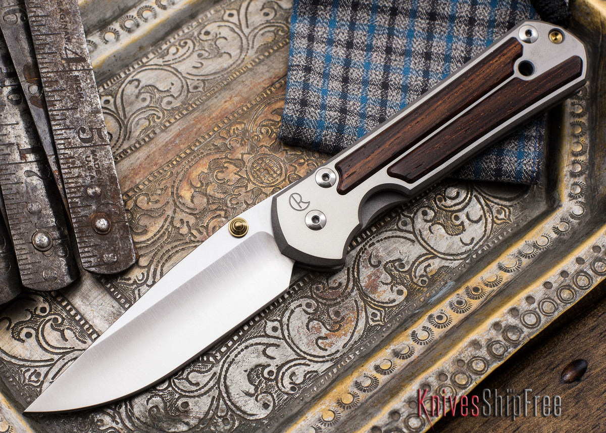 Chris Reeve Knives: Large Sebenza 21 - Cocobolo Inlay - 051903 primary image