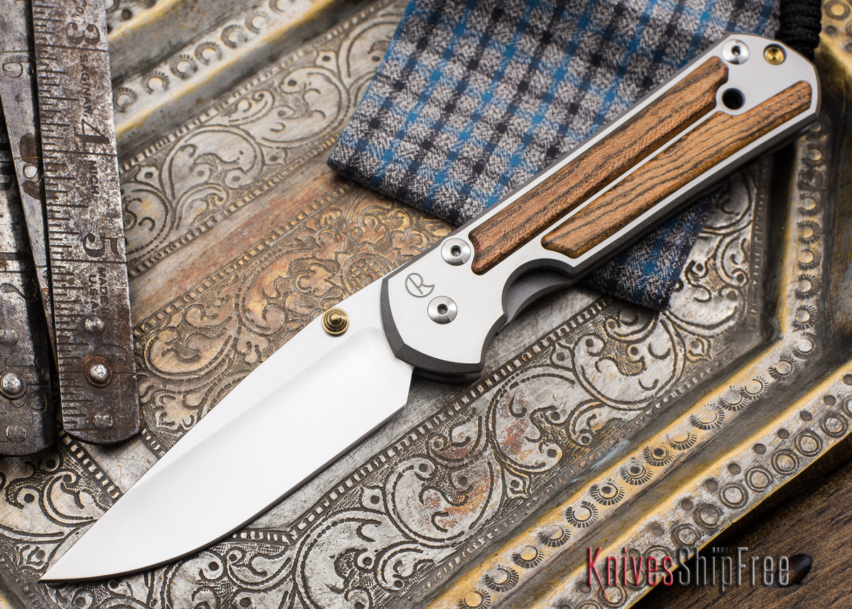Chris Reeve Knives: Large Sebenza 21 - Bocote Inlay - 051902 primary image