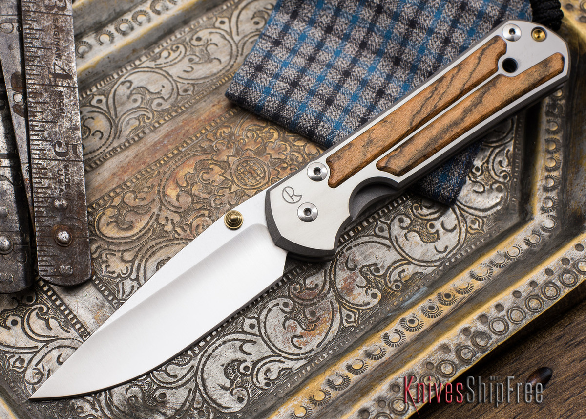 Chris Reeve Knives: Large Sebenza 21 - Bocote Inlay - 051903 primary image
