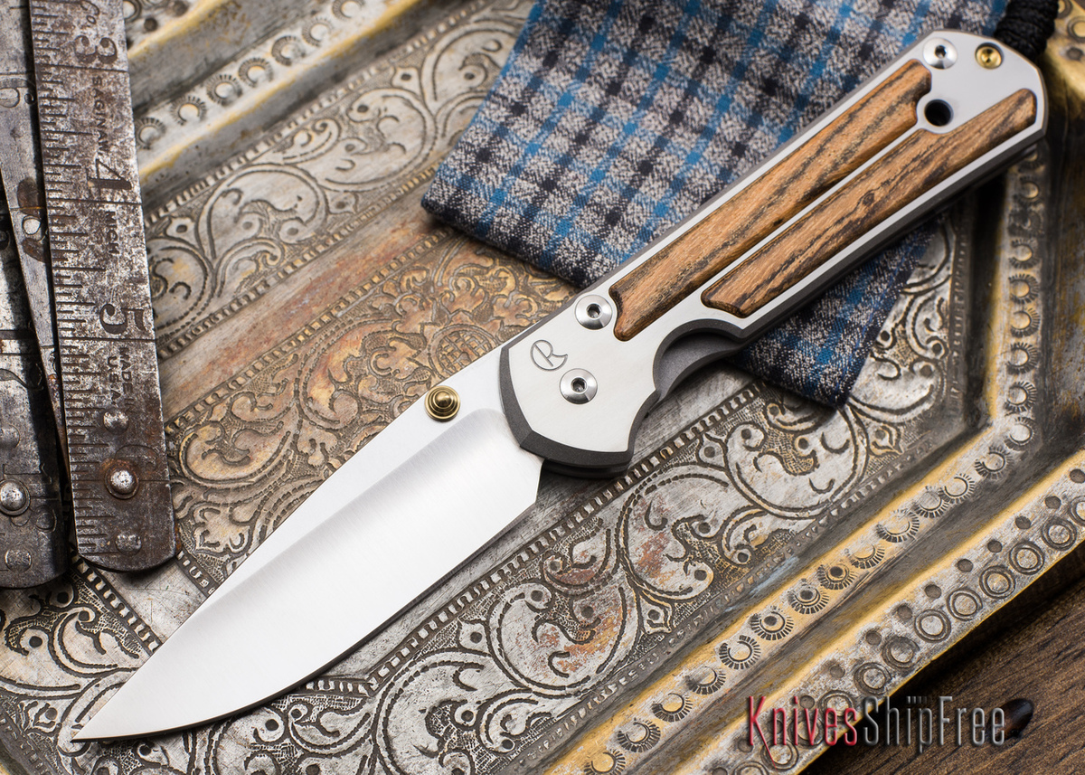 Chris Reeve Knives: Large Sebenza 21 - Bocote Inlay - 051906 primary image