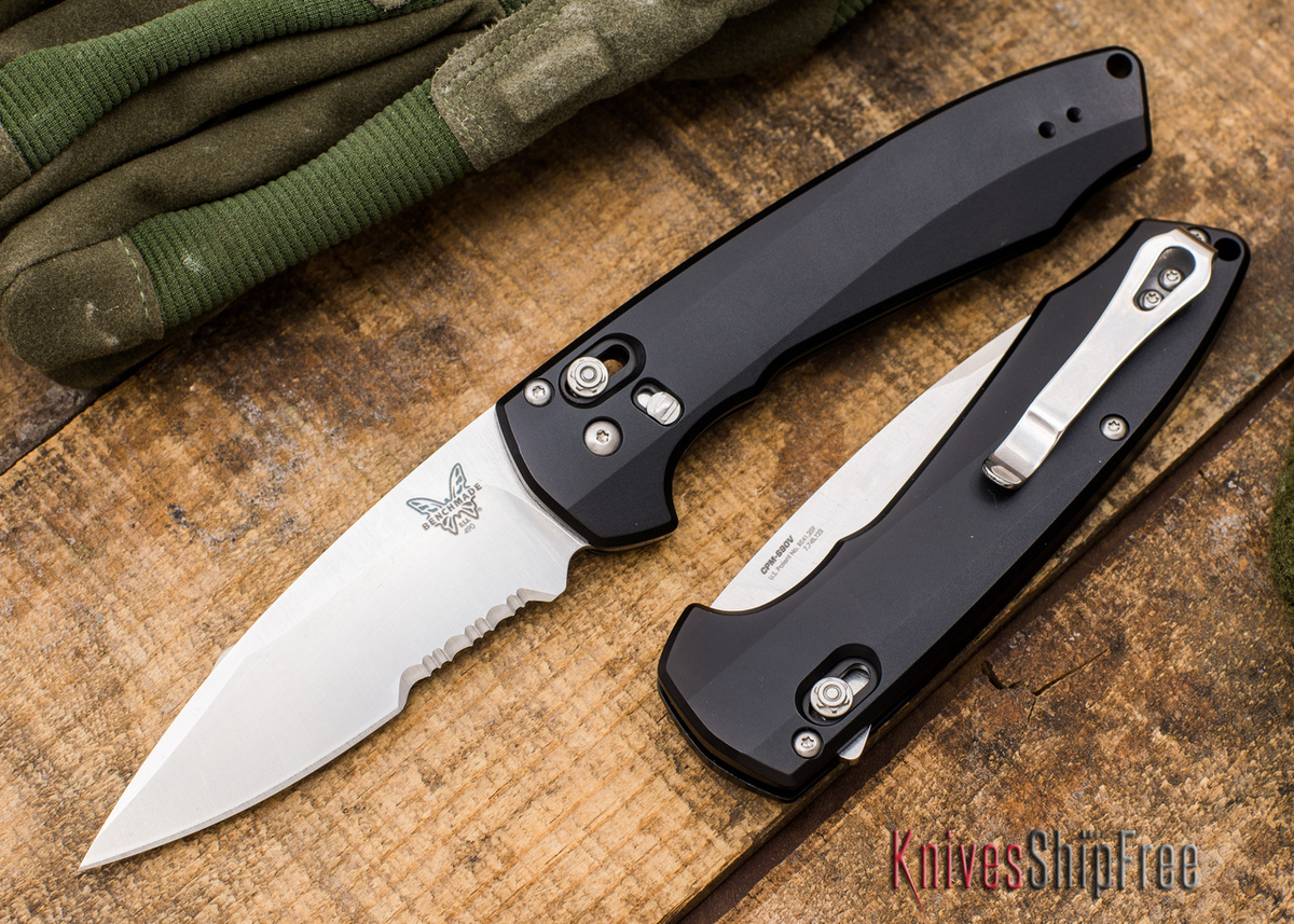 Benchmade Knives: 490S Arcane - AXIS Assist Flipper - Partially Serrated - CPM S90V primary image