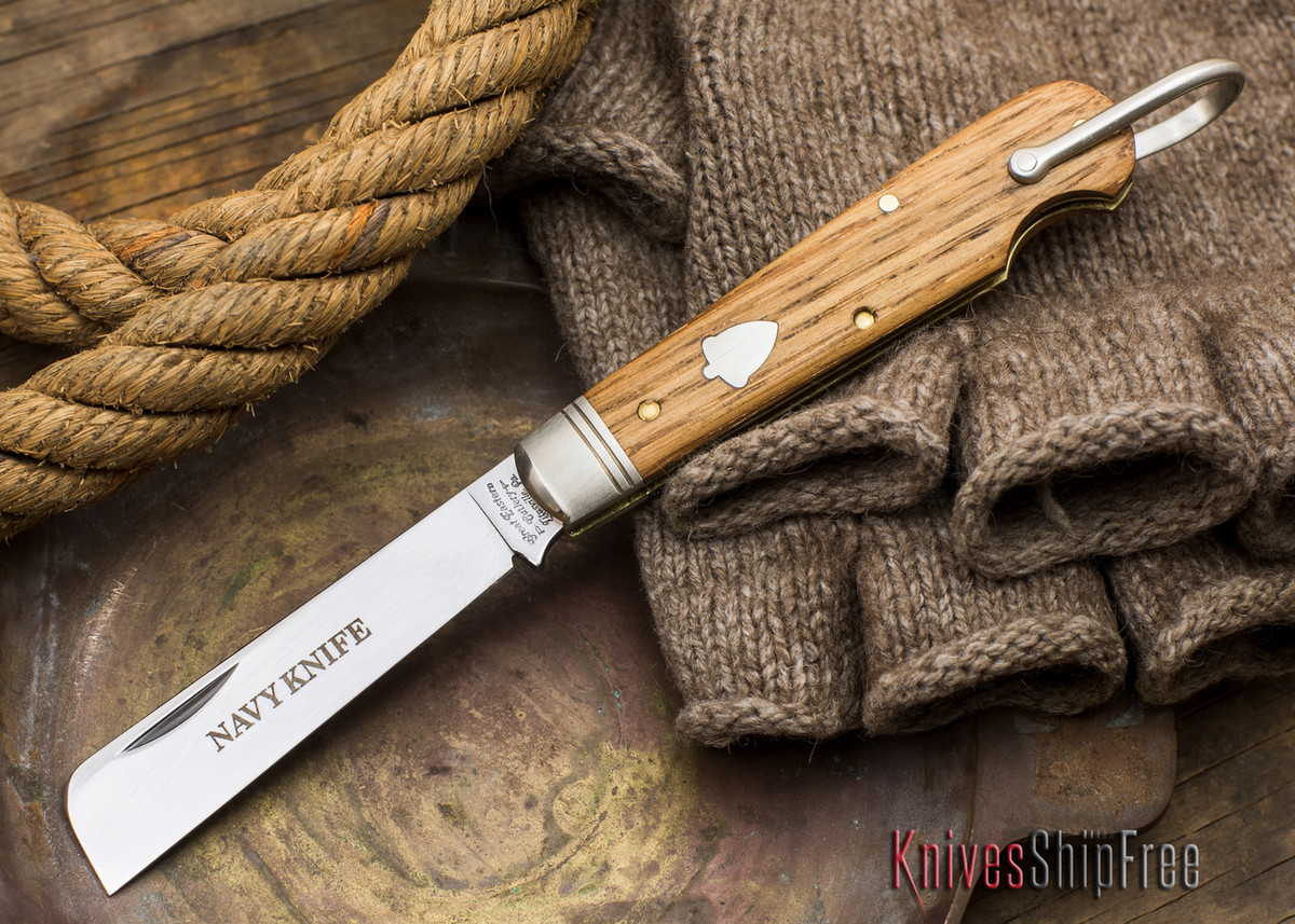 Great Eastern Cutlery: #15 - Navy Knife - Old Barn Chestnut - F primary image