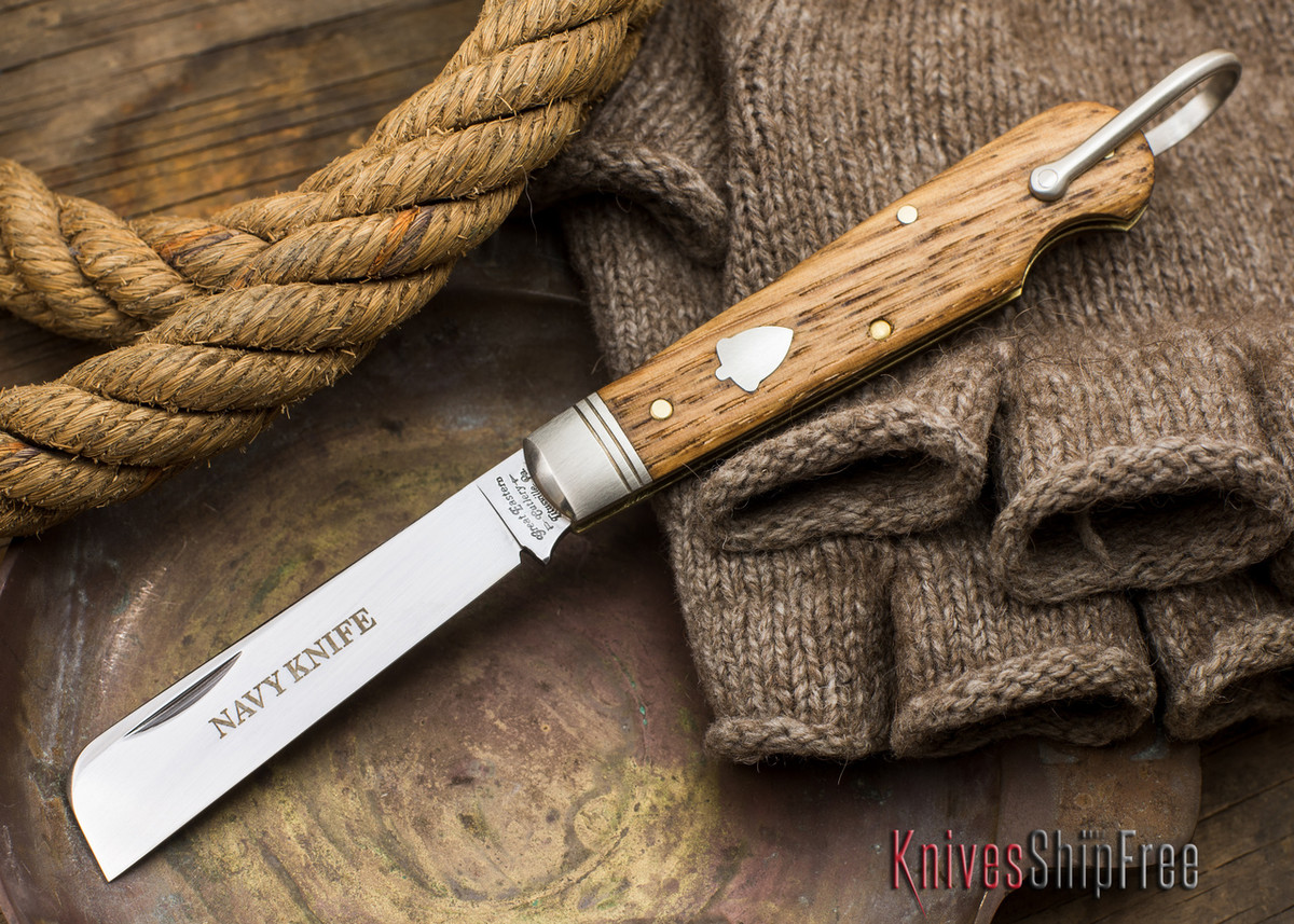 Great Eastern Cutlery: #15 - Navy Knife - Old Barn Chestnut - X primary image