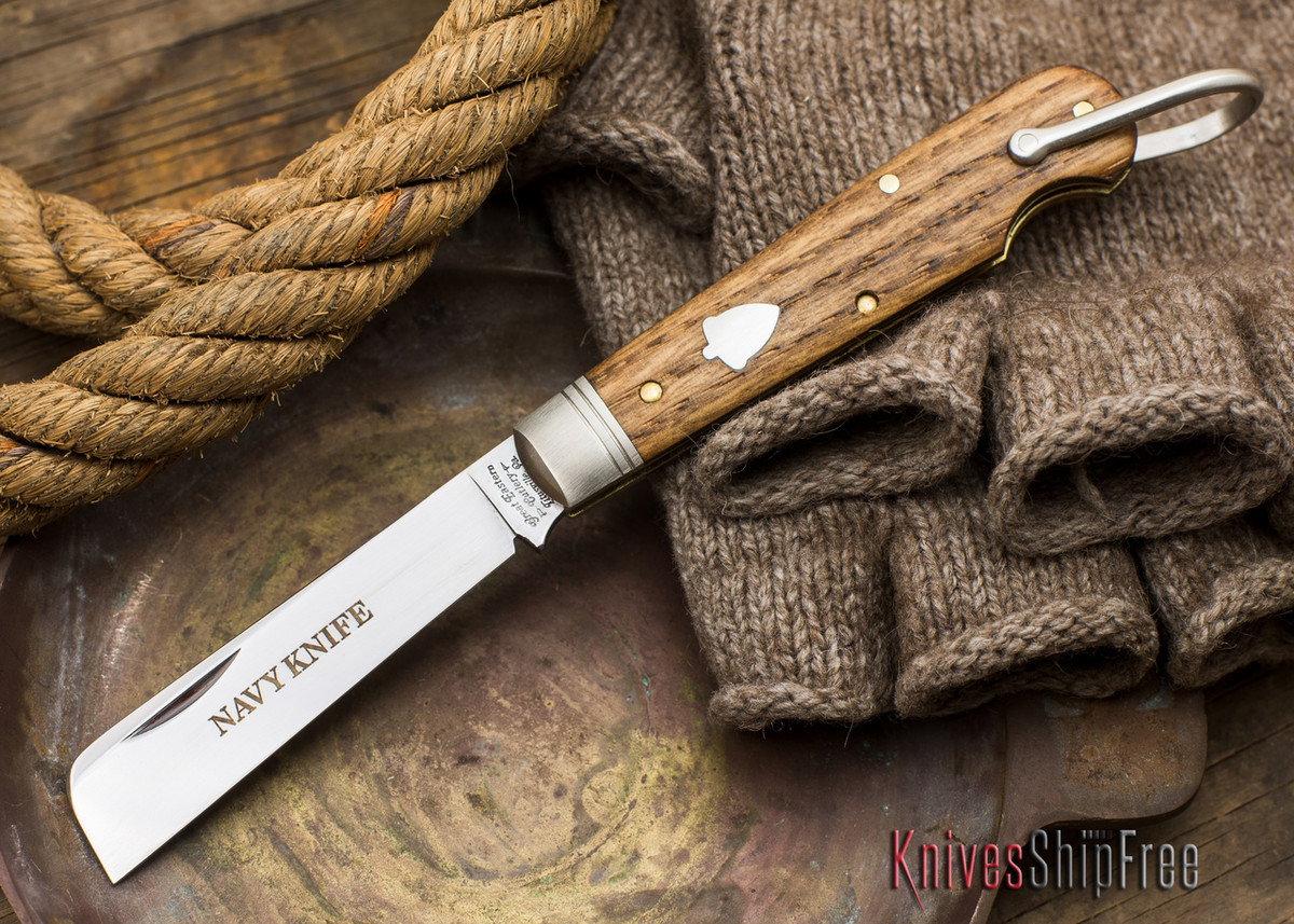 Great Eastern Cutlery: #15 - Navy Knife - Old Barn Chestnut - Y primary image