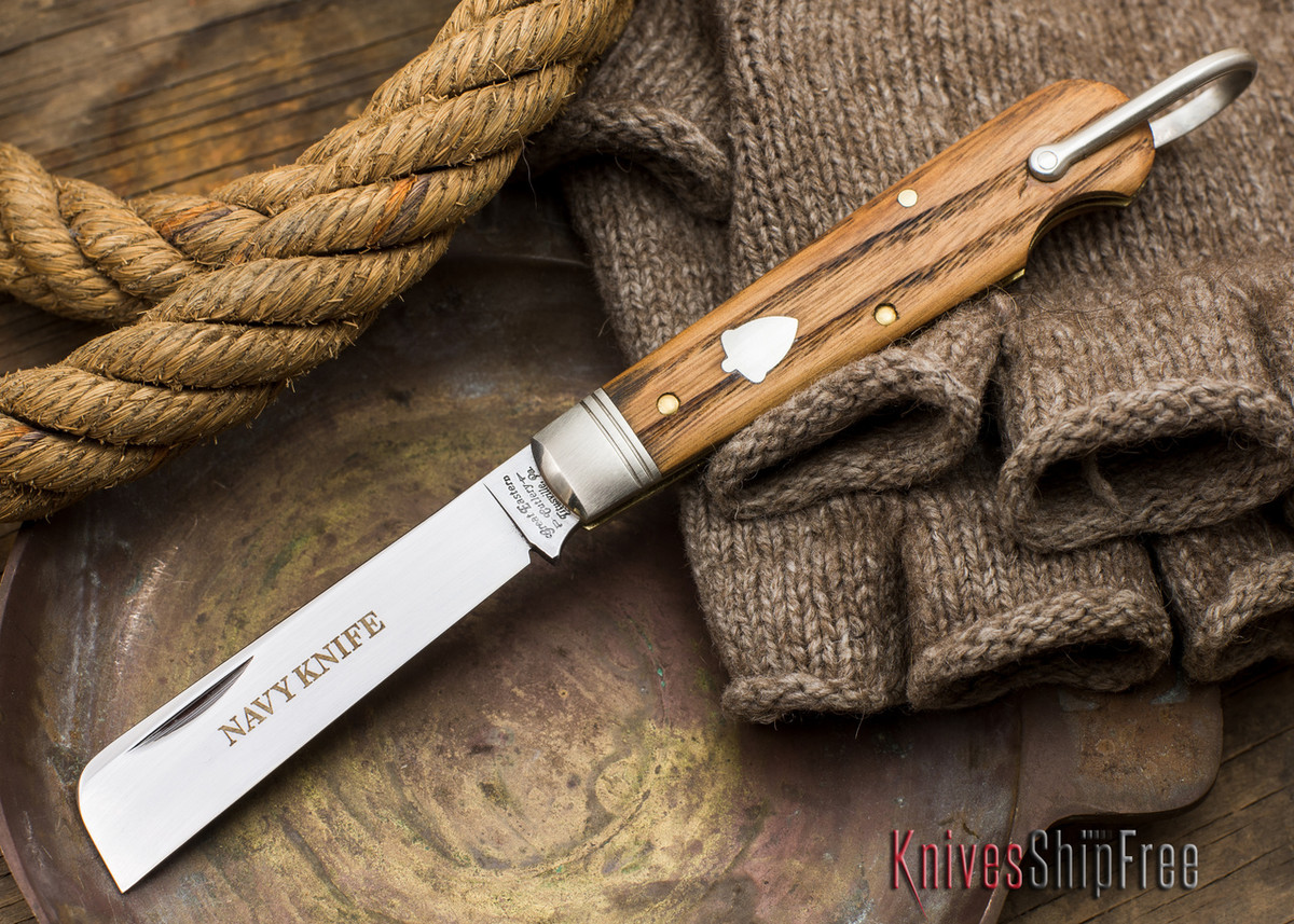 Great Eastern Cutlery: #15 - Navy Knife - Old Barn Chestnut - SS primary image