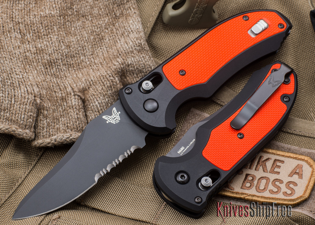 Benchmade Knives: 9170SBK-ORG Triage Rescue - AUTO Axis primary image
