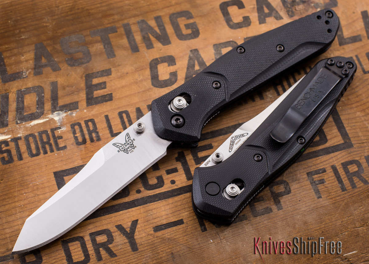 Benchmade Knives: 940-2 Osborne - Black G-10 primary image