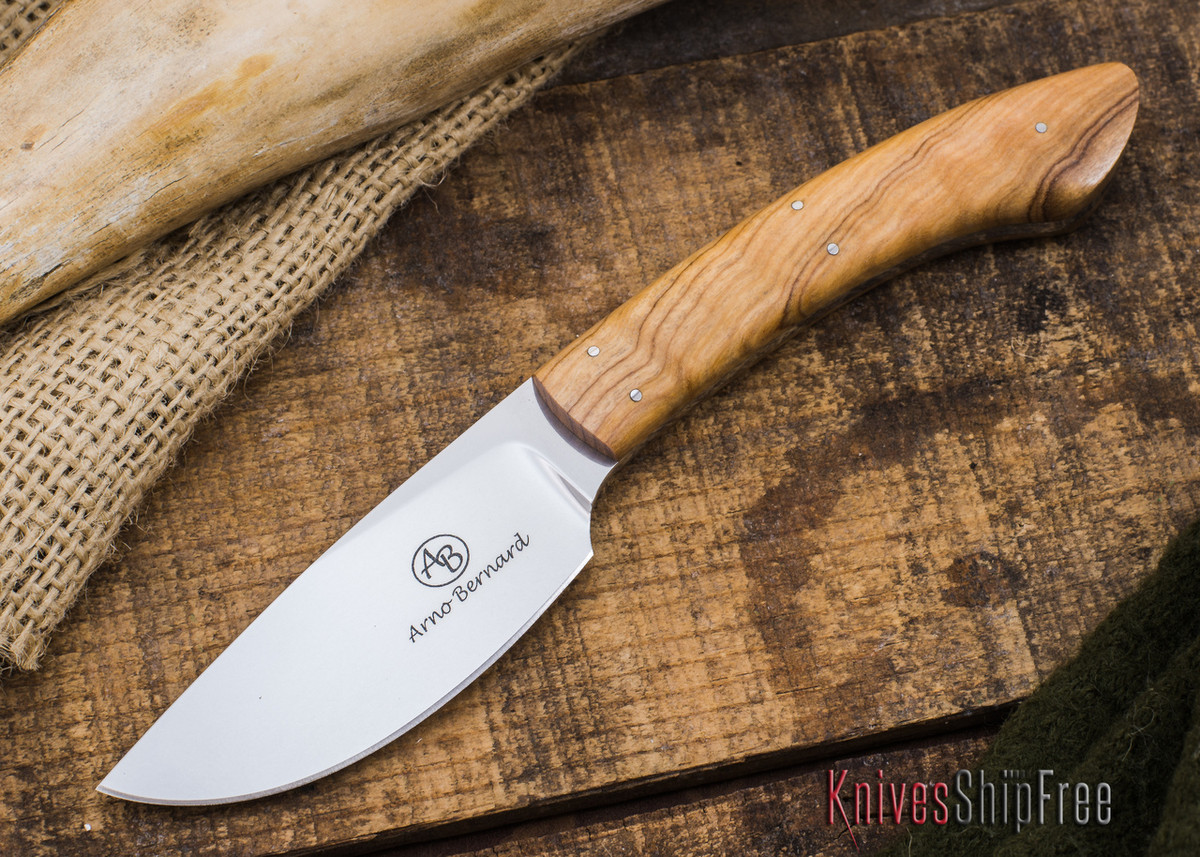 Arno Bernard Knives: Pro Hunter Series - Sable - Wild Olive - 70518 primary image