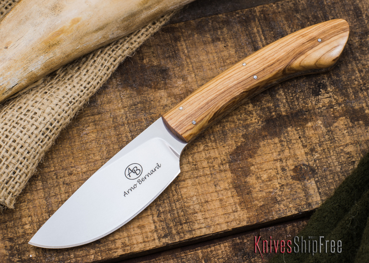 Arno Bernard Knives: Pro Hunter Series - Sable - Wild Olive - 70527 primary image
