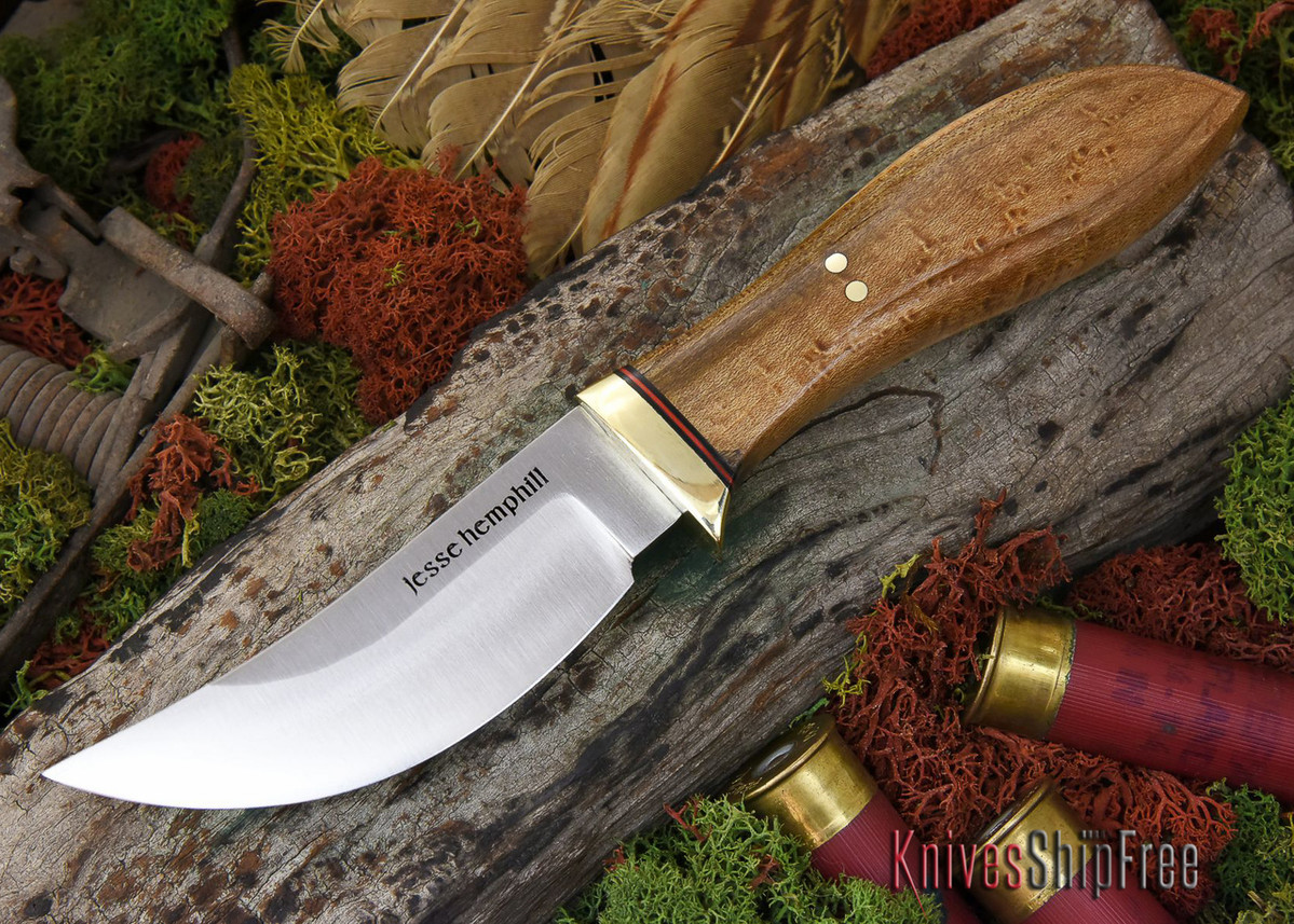 Jesse Hemphill Knives: DeKalb Series - High Falls - Birdseye Maple - #1 primary image
