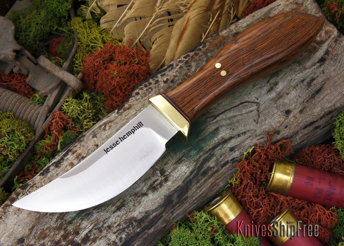 Jesse Hemphill Knives: DeKalb Series - High Falls - Cocobolo - #3 primary image