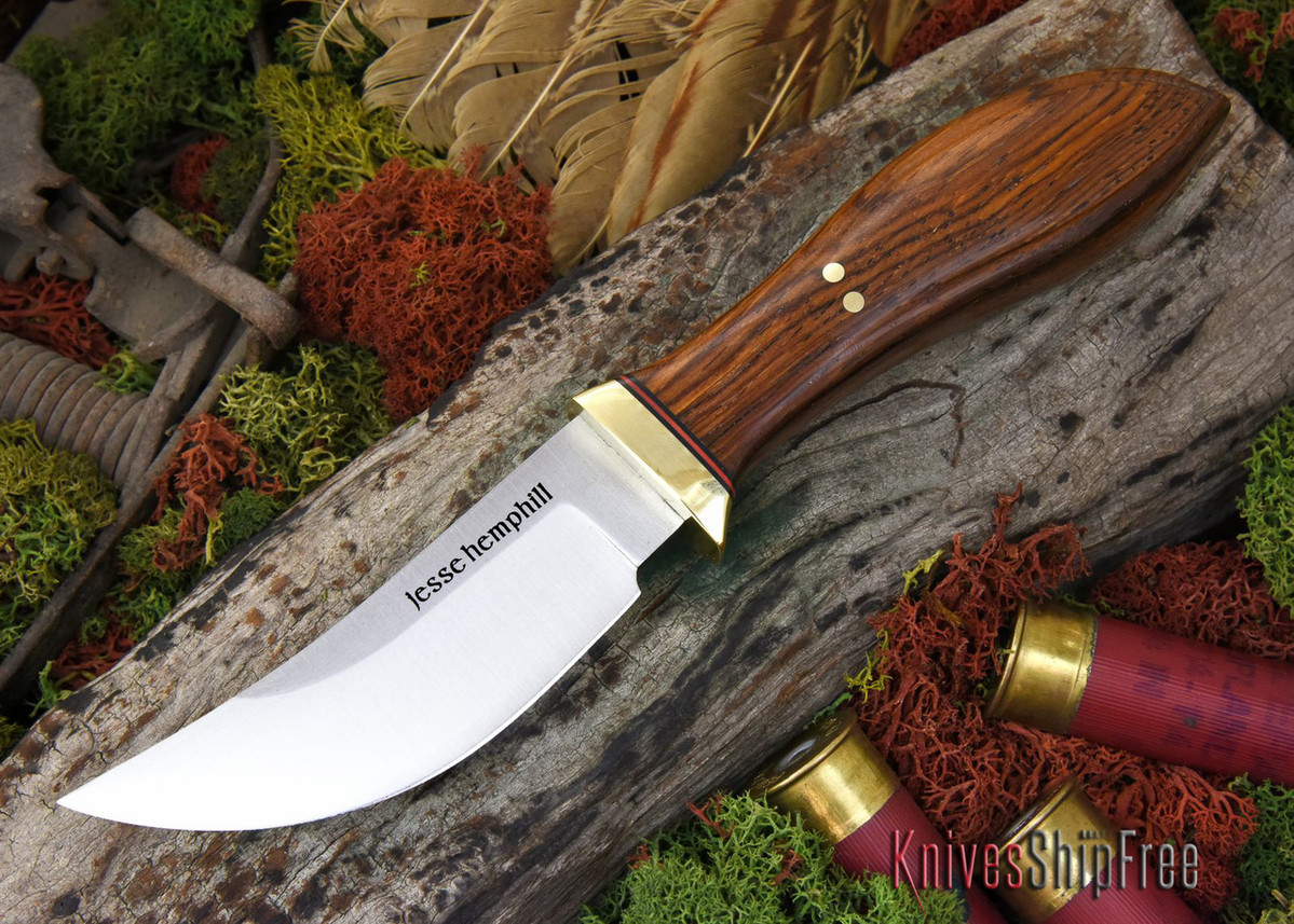 Jesse Hemphill Knives: DeKalb Series - High Falls - Cocobolo - #4 primary image
