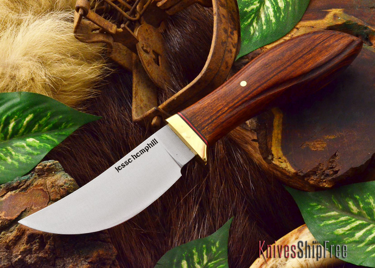 Jesse Hemphill Knives: DeKalb Series - High Falls - Desert Ironwood - #3 primary image