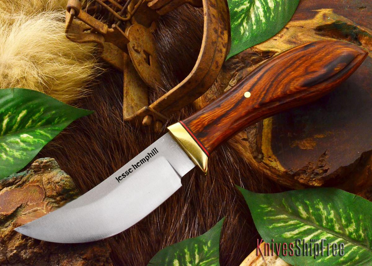 Jesse Hemphill Knives: DeKalb Series - High Falls - Desert Ironwood - #5 primary image