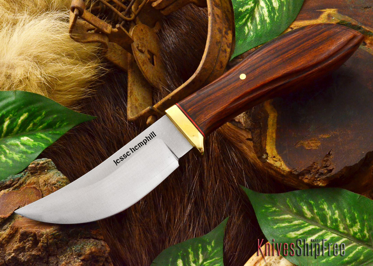 Jesse Hemphill Knives: DeKalb Series - High Falls - Desert Ironwood - #6 primary image