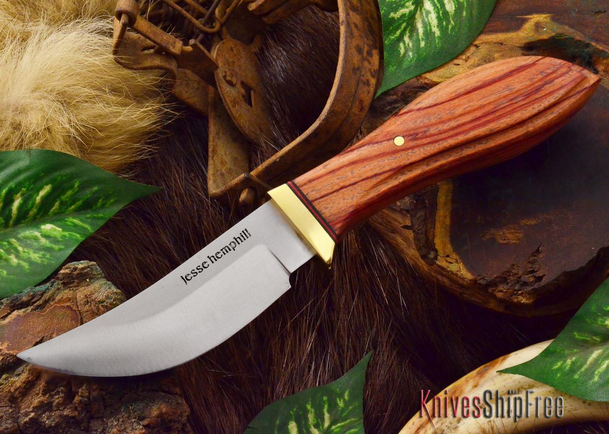 Jesse Hemphill Knives: DeKalb Series - High Falls - Tulipwood primary image