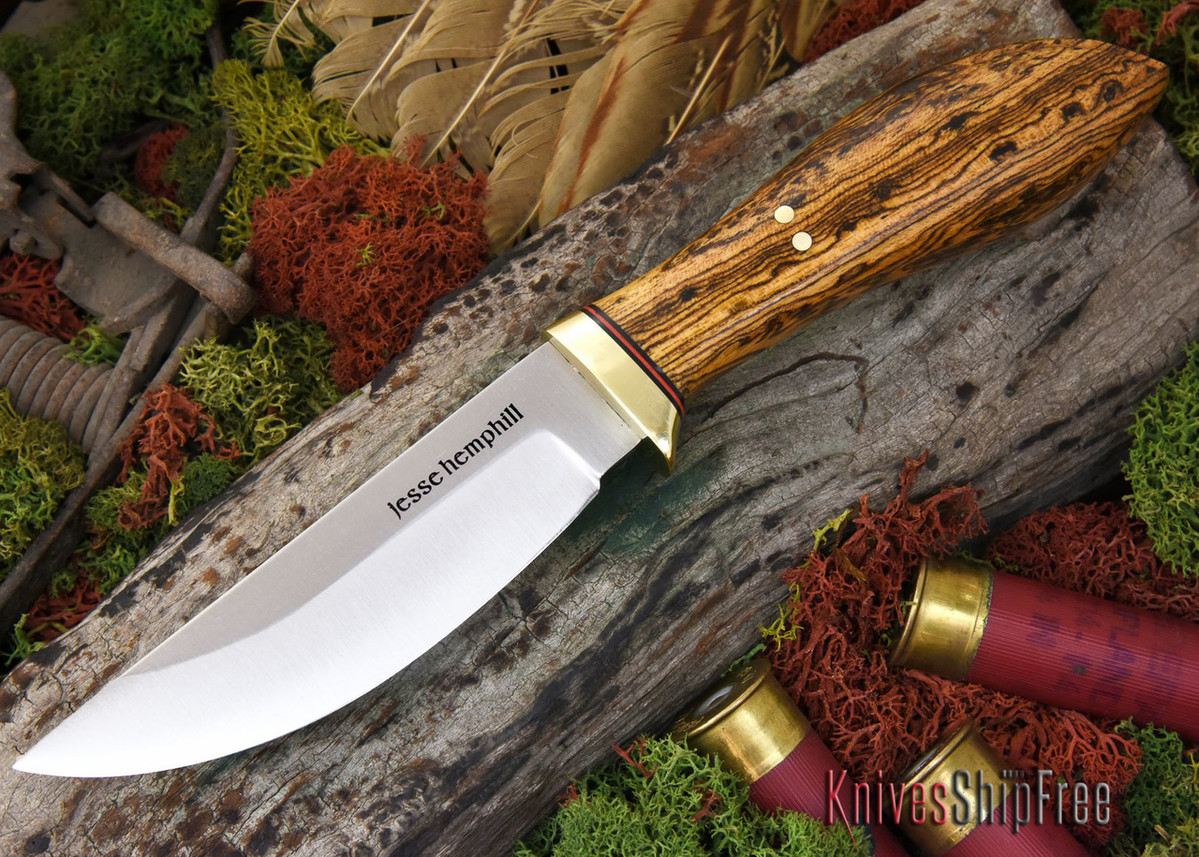 Jesse Hemphill Knives: DeKalb Series - Point Rock - Bocote primary image