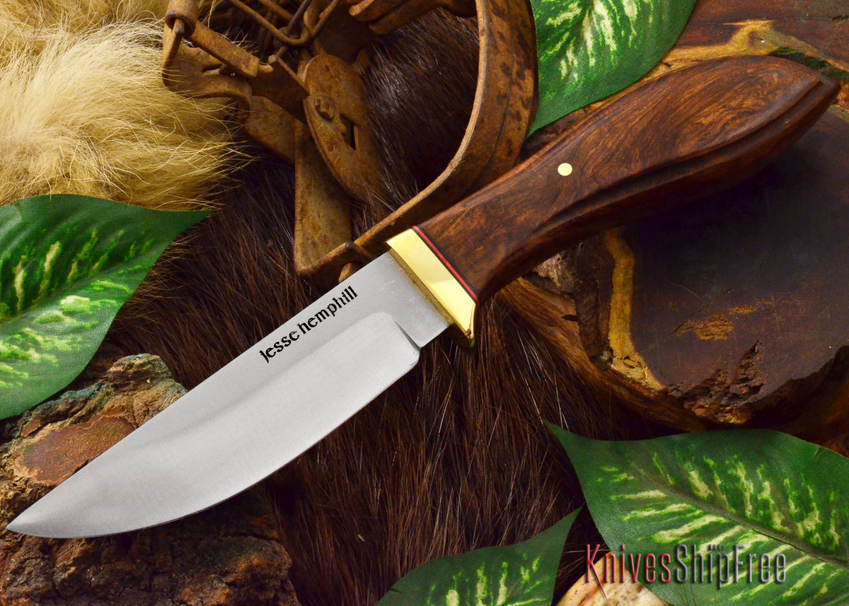 Jesse Hemphill Knives: DeKalb Series - Point Rock - Cocobolo - #5 primary image