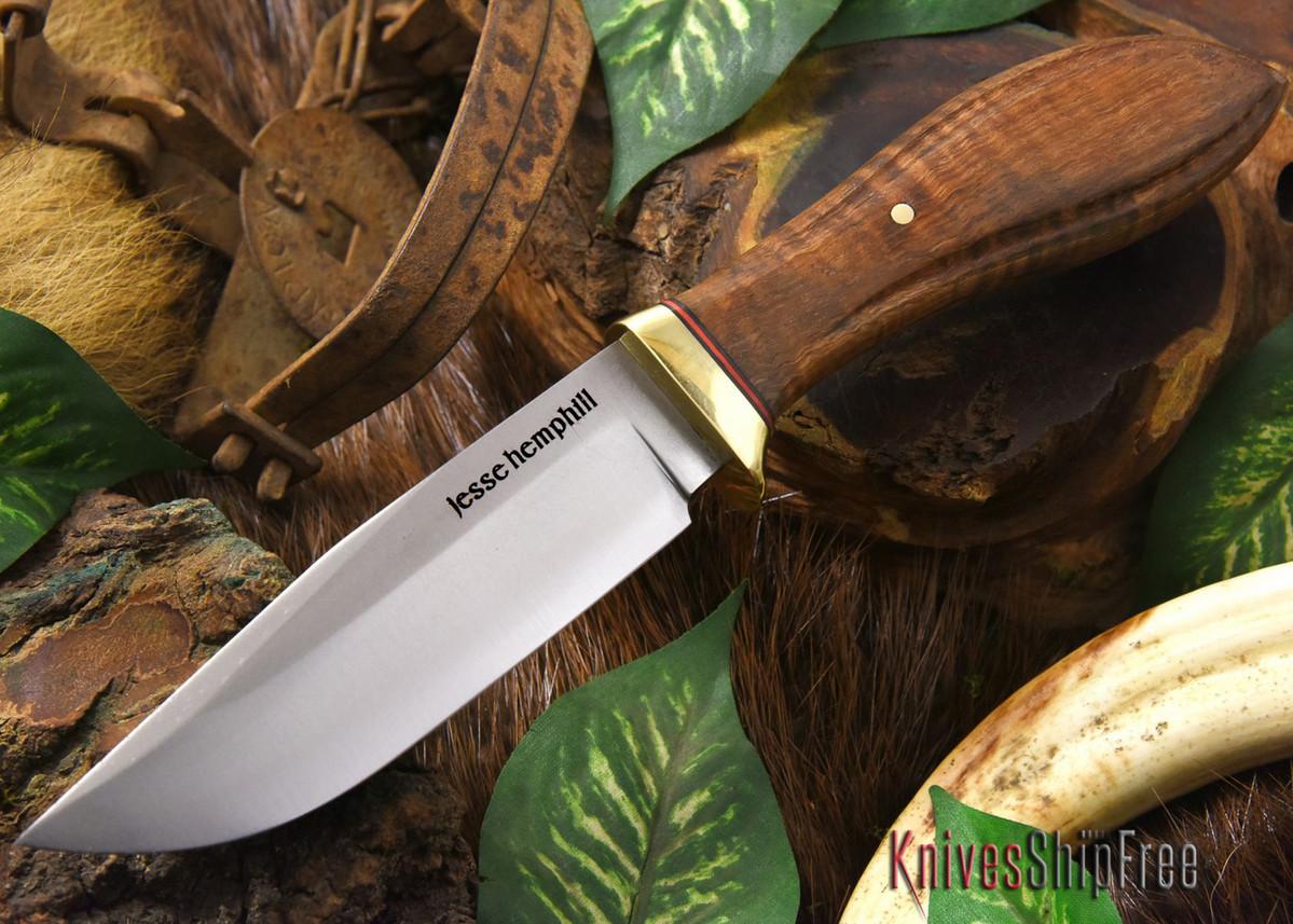 Jesse Hemphill Knives: DeKalb Series - Town Creek - Curly Koa Burl - #2 primary image