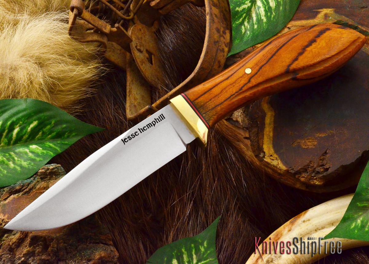 Jesse Hemphill Knives: DeKalb Series - Town Creek - Desert Ironwood - #5 primary image