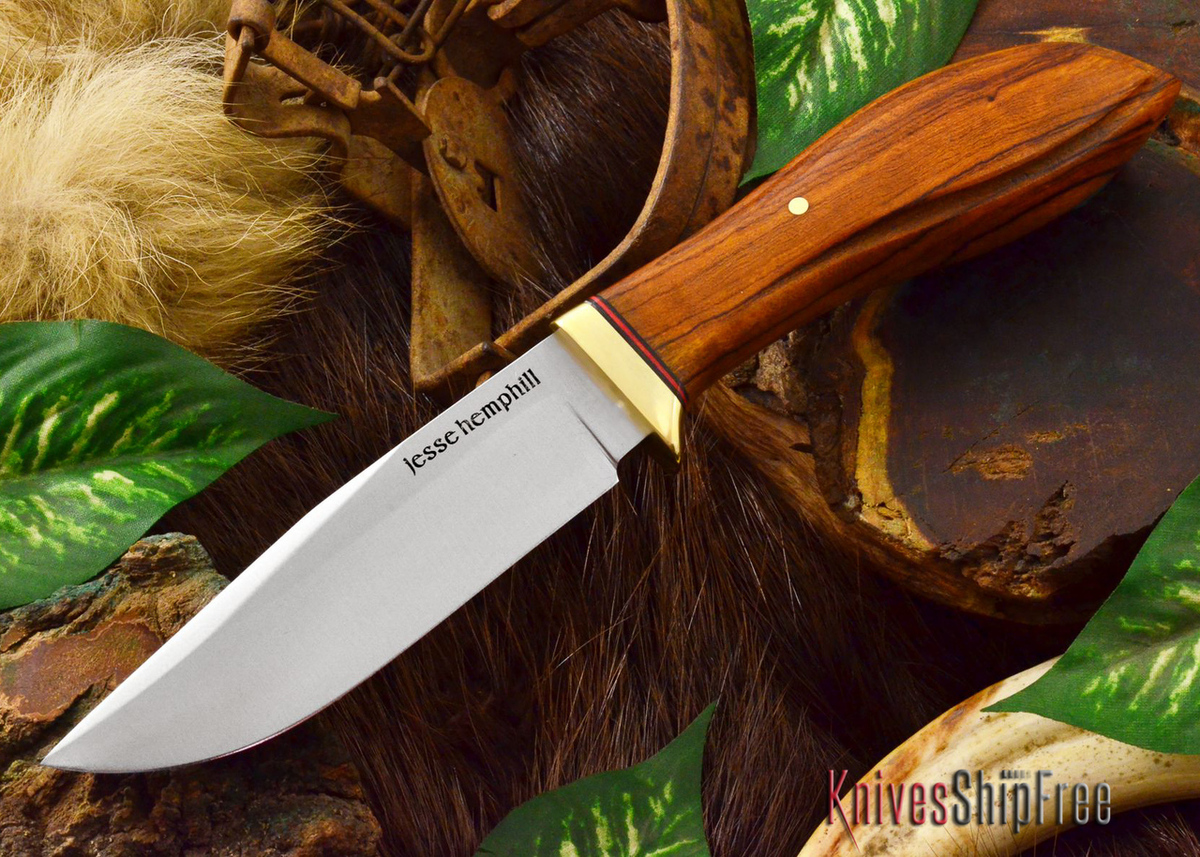 Jesse Hemphill Knives: DeKalb Series - Town Creek - Desert Ironwood - #8 primary image
