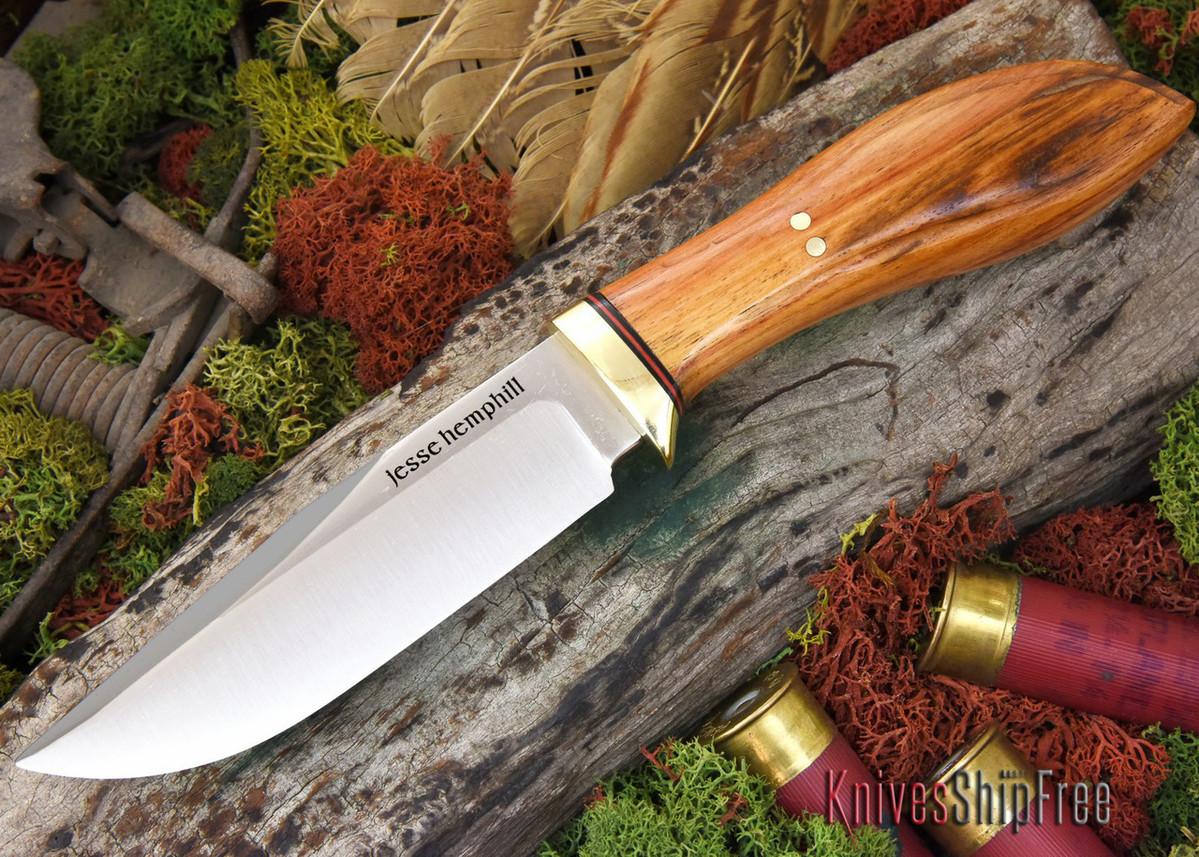 Jesse Hemphill Knives: DeKalb Series - Town Creek - Tulipwood primary image