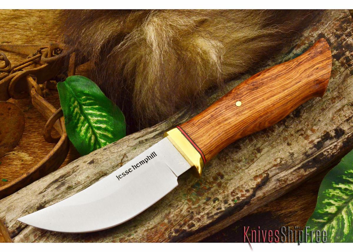 Jesse Hemphill Knives: DeKalb Series - High Falls - Honduran Rosewood primary image