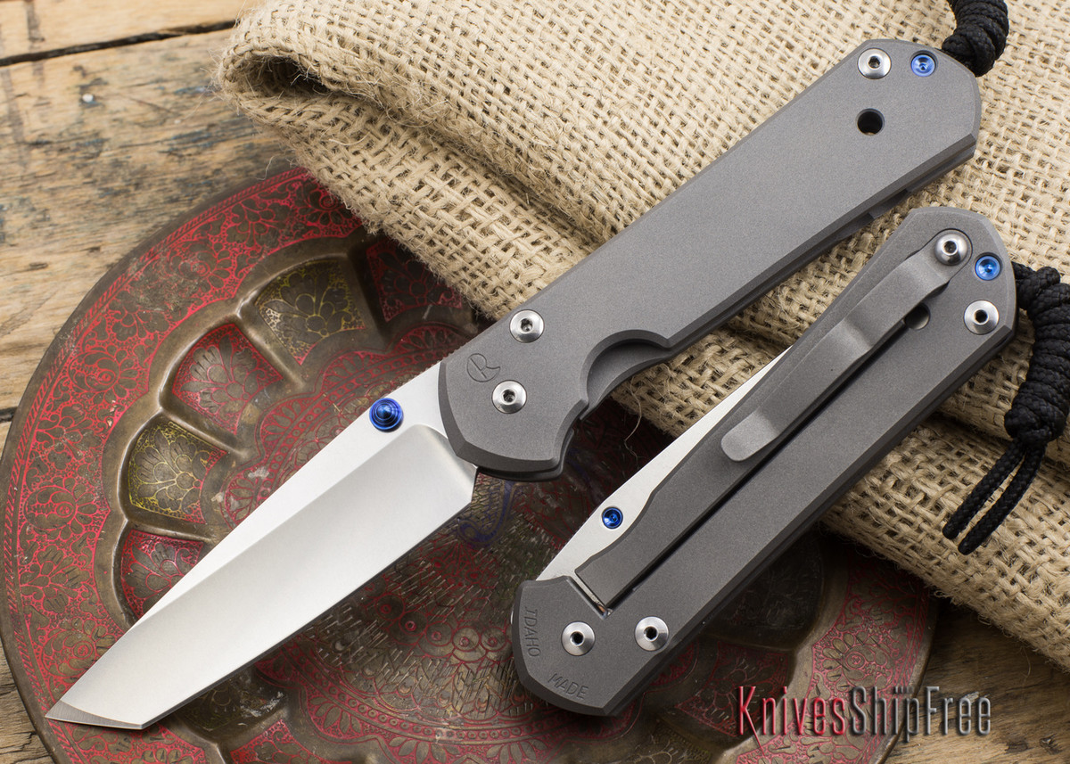 Chris Reeve Knives: Large Sebenza 21 - Tanto primary image