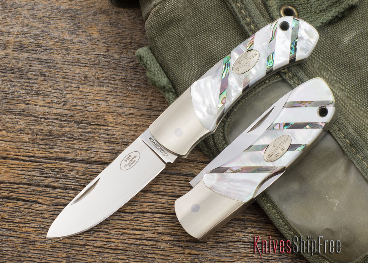 Fallkniven: FH9 - Mother-of-Pearl - 3G Steel primary image