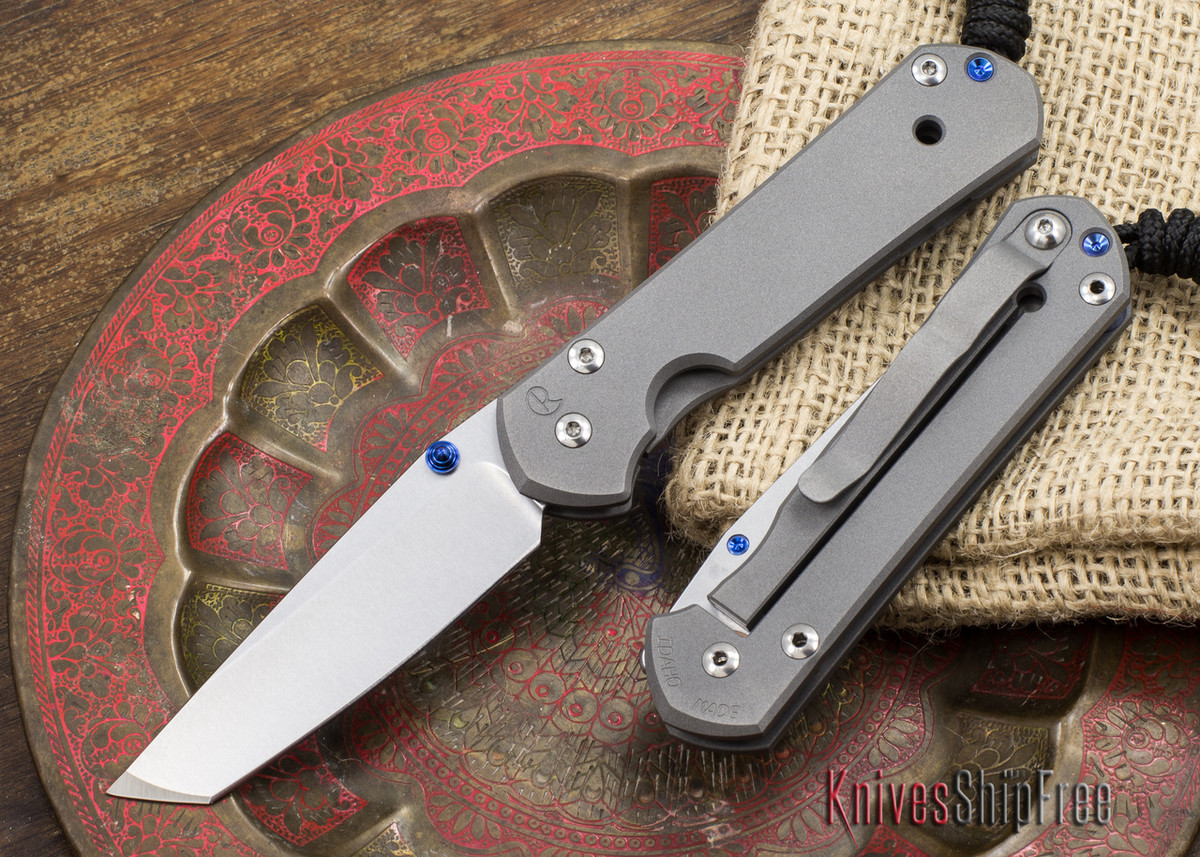 Chris Reeve Knives: Small Sebenza 21 - Tanto primary image