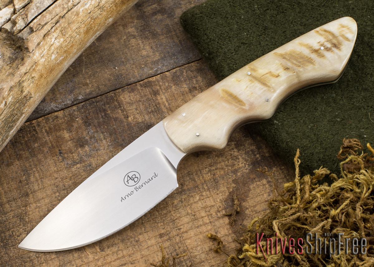 Arno Bernard Knives: Predator Series - Great White - Sheep Horn - 112322 primary image