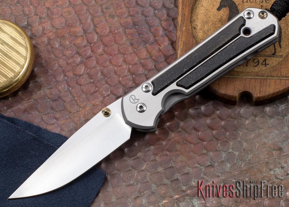 Chris Reeve Knives: Small Sebenza 21 - Bog Oak Inlay - 010507 primary image