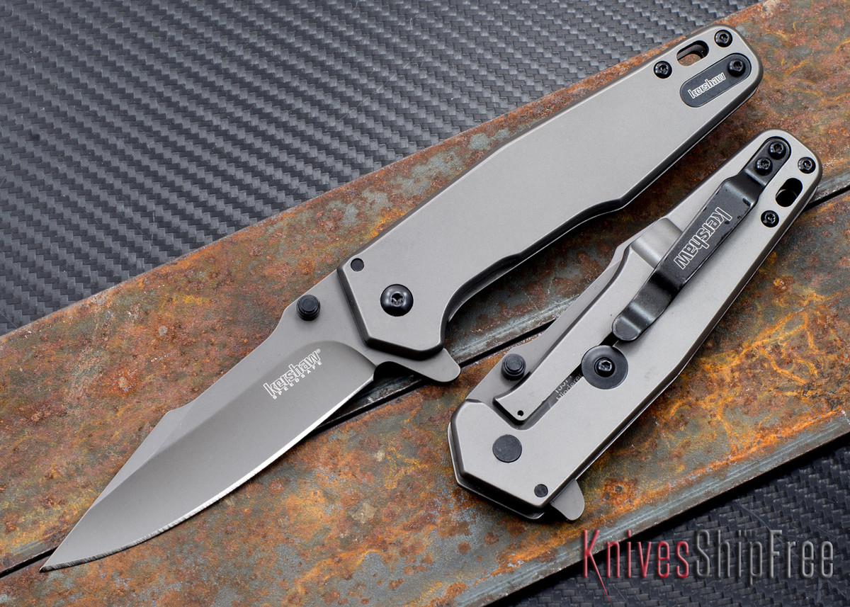 Kershaw Knives: Ferrite - SpeedSafe Assisted Flipper - 1557TI primary image