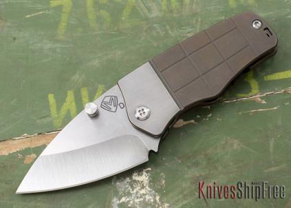 Medford Knife & Tool: Sherman - Titanium - Bronze Finish