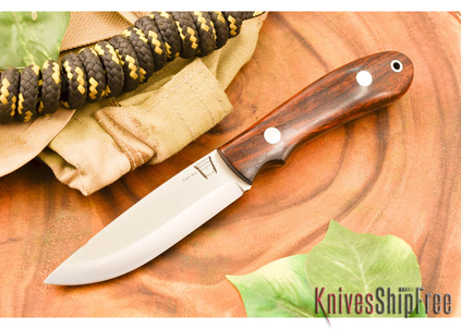 Hyken Knives: Bushcrafter CPM-154 - Desert Ironwood #1