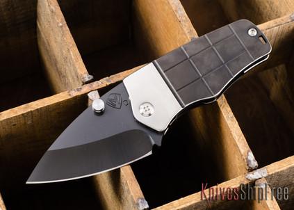 Medford Knife & Tool: Sherman - PVD Coated Titanium & D2 Steel